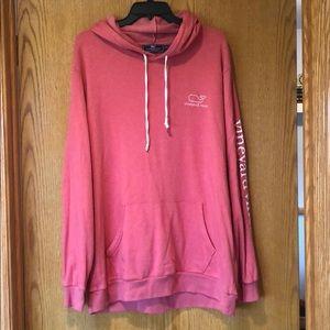 Pink Vineyard Vines Sweatshirt